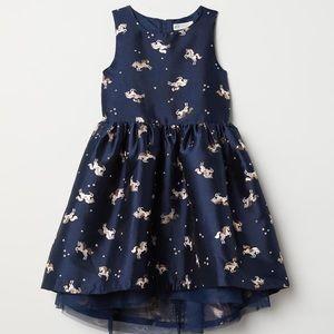 Blue & Gold Unicorn Dress 👗